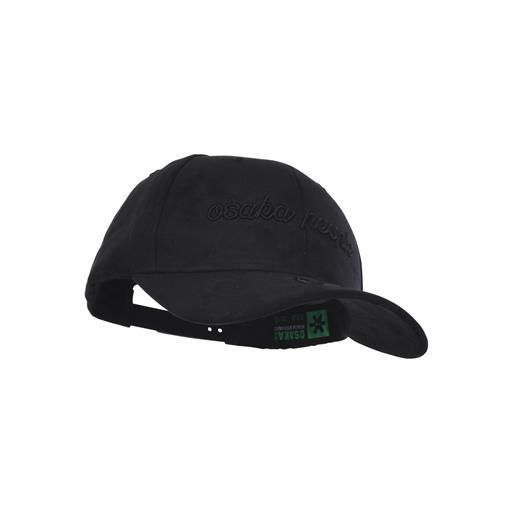 Curved Snapback - Black Daim