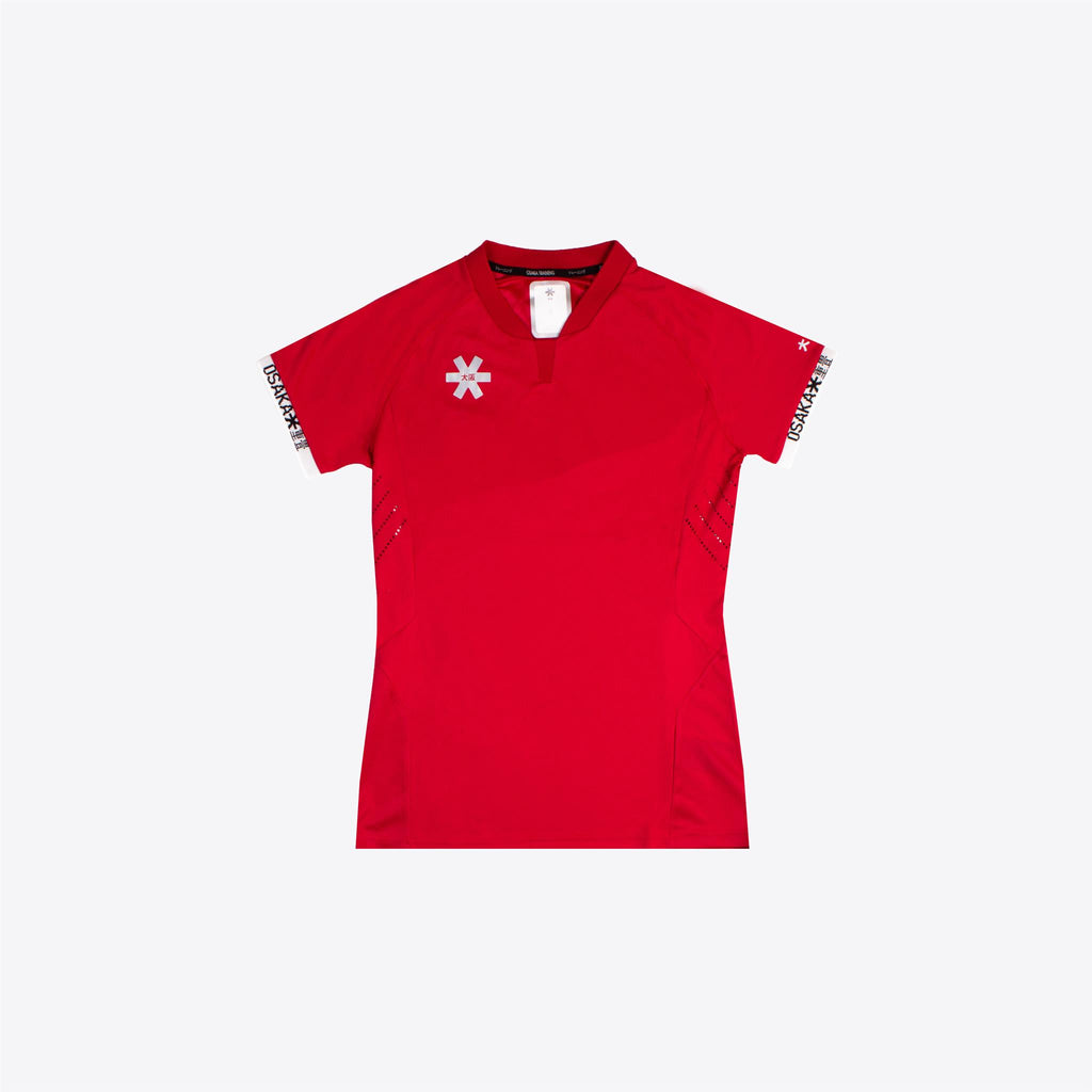 Women Uniform Top - Red