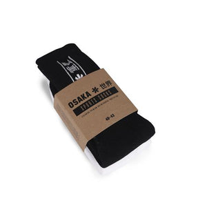 TUBULAR SOCKS DUO PACK - BLACK / WHITE