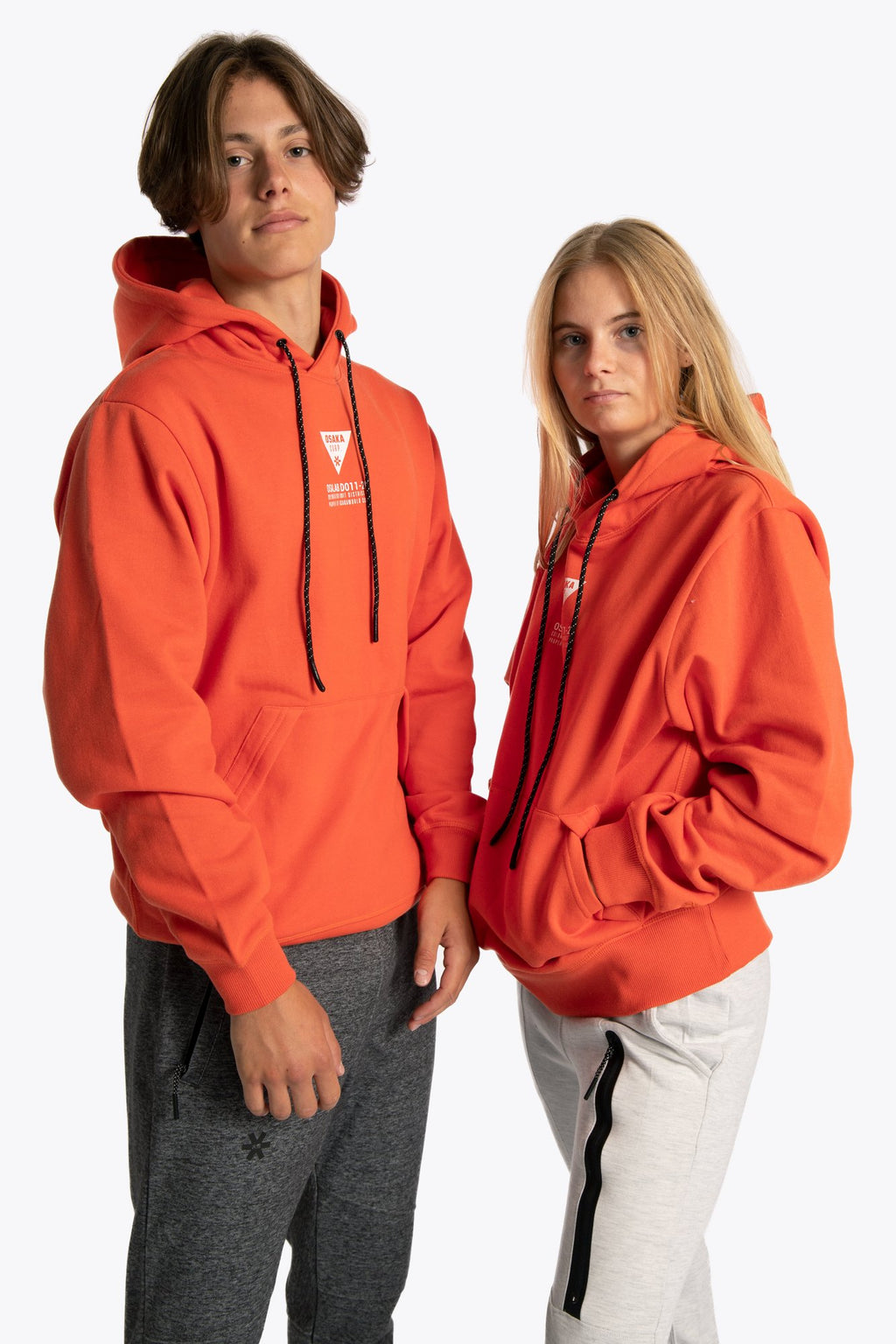 District 11 Hoodie - Orange