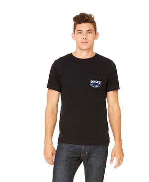 FAU Unisex Short Sleeve Pocket Tee w/ FAU & Owlsley Logo