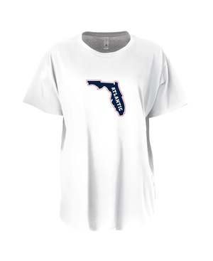 FAU Women's Loose Fit Tee w/ State of Florida Logo