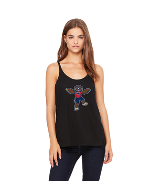 FAU Women's Slouchy Fit Tank (Owlsley the Owl Logo)