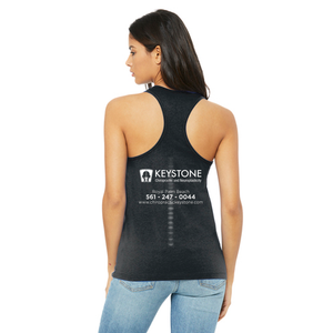 Keystone Neuroplasticity Got Posture Ladies Racerback Tanks