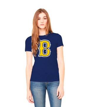 Ladies Boca Baseball Cotton Shirt