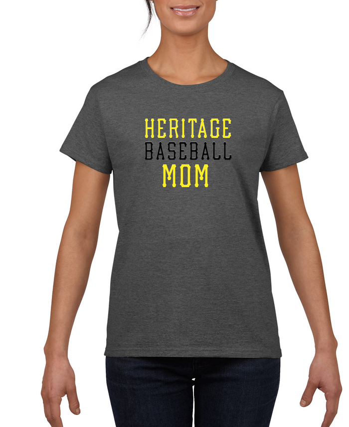 Ladies Heritage Baseball Mom Dri-Fit