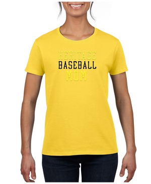 Ladies Heritage Baseball Mom Cotton