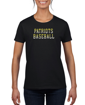 Ladies Patriots Baseball Dri-Fit