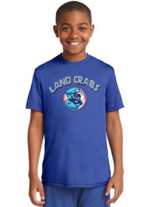 Landcrabs 2019 Royal Blue Youth Game Jersey