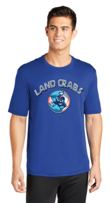 Landcrabs 2019 Royal Blue Adult Game Jersey