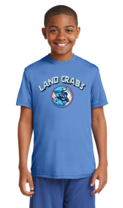 Landcrabs 2019 Carolina Blue Youth Game Jersey