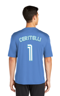 Landcrabs 2019 Carolina Blue Adult Game Jersey
