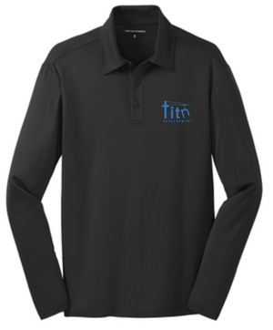 More BusinessTitn Silk Touch™ Performance Long Sleeve Polo