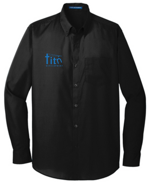 Titn Long Sleeve Carefree Poplin Shirt