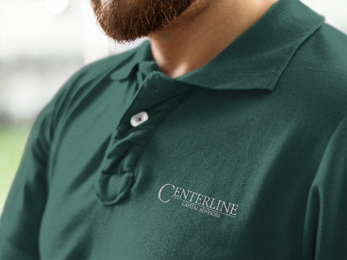 Centerline Capital Advisors LS MicroPique Sport-Wick Polo