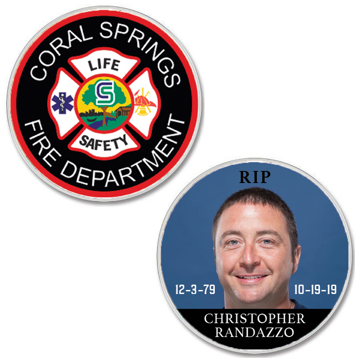 Challenge Coin for Christopher Randazzo
