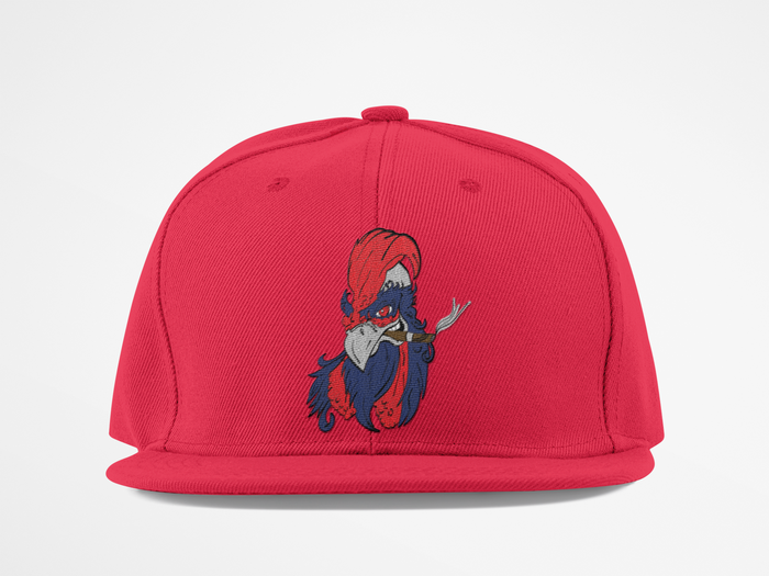 Stroking Chickens America Golf Hat