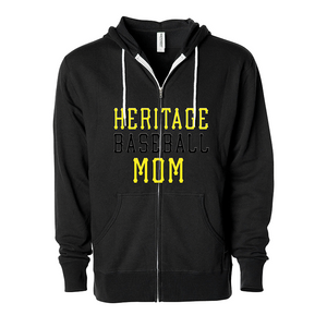 Unisex Heritage Baseball Mom Fashion Fit Hoodie