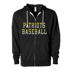 Men's Patriots Baseball Fashion Fit Hoodie