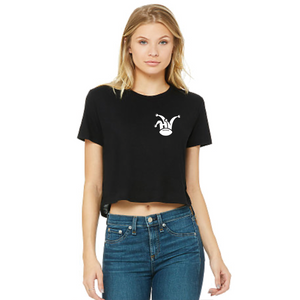 Hijinks Flowy Cropped Tee