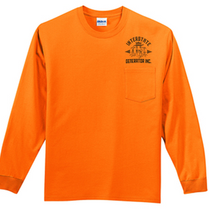 Interstate Generator Long Sleeve Pocket Tee Safety
