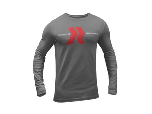 Redline Athletics Your Path Long Sleeve Dry-Fit Tee