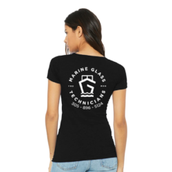 Marine Glass Technicians Ladies Shirt