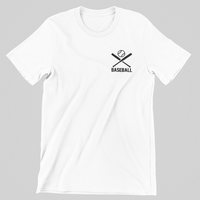 OAGWUW Baseball White Mens Shirt