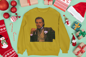 Laughing Leo Ugly Sweater