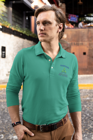 Tropical Pest Control Long Sleeve Polo