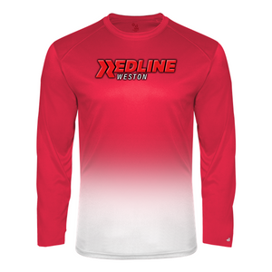 Redline Weston Long Sleeve Ombre Tee