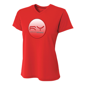 More BusinessLadies Dri-Fit Ryfitness Shield V-Neck