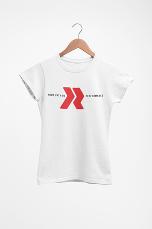 Ladies Redline Athletics Your Path Tee