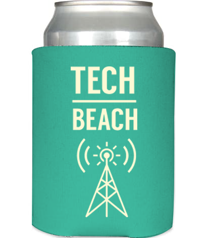 Tech Beach Coozie