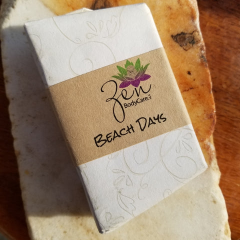 Beach Days Goat Milk Soap Bar