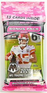 2020 Mosaic Football Cello Pack