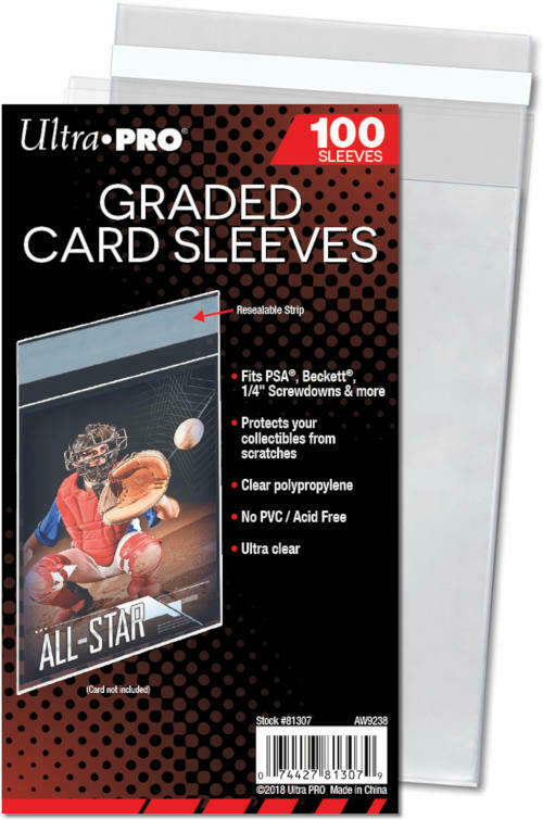 Graded Card Sleeves