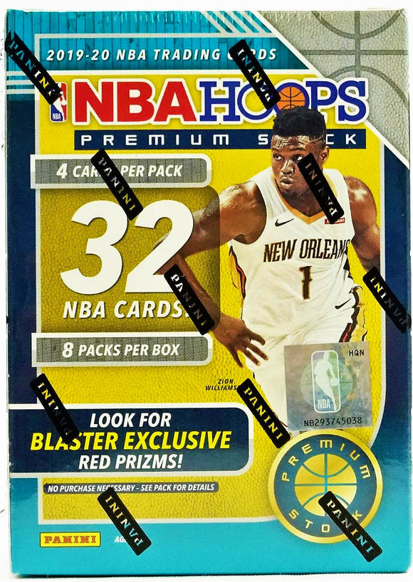 2019-20 NBA Hoops Premium Stock Blaster Box