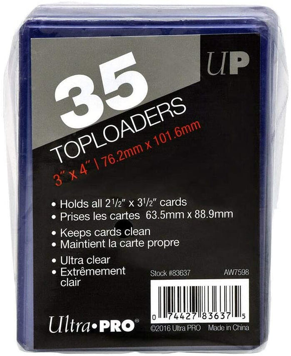 Pack of 35 Regular Ultra-Pro Toploaders