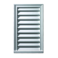 Fypon® Decorative Vertical Rectangle Louver