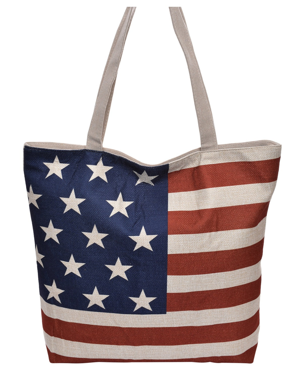 Beach Diaper Bag Shopping Purse Handbag Craft Travel Tote Feathers or USA Flag