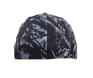 Harvest Moon Camo Respect My Country Flag ProFlex Fit Western Hat Cap Black Gray