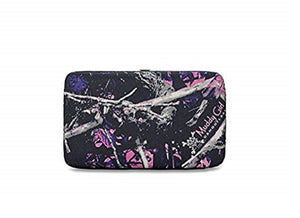 Muddy Girl Camo Camouflage Western Flat Wallet Pink Purple