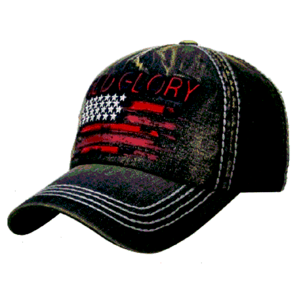 Old Glory American Flag USA Patriotic July 4th Star Baseball Hat Cap