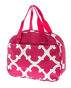 Clover Quatrefoil Insulated Lunch Box Case Womens Girls Work School Bag