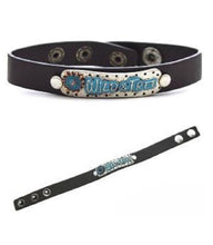 Western Snap Bracelet Bracelet Cowgirl Gypsy Soul or Wild & Free in Blue or Brown
