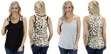 Sunshine&Rodeos Baseball Sports Tank Top Sleeveless Womens Ladies Shirt Top Black Gray Grey