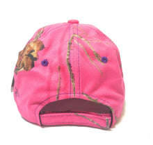 Mossy Oak Adjustable Camo Camouflage Western Cowgirl Womens Ladies Hat Cap Pink Purple