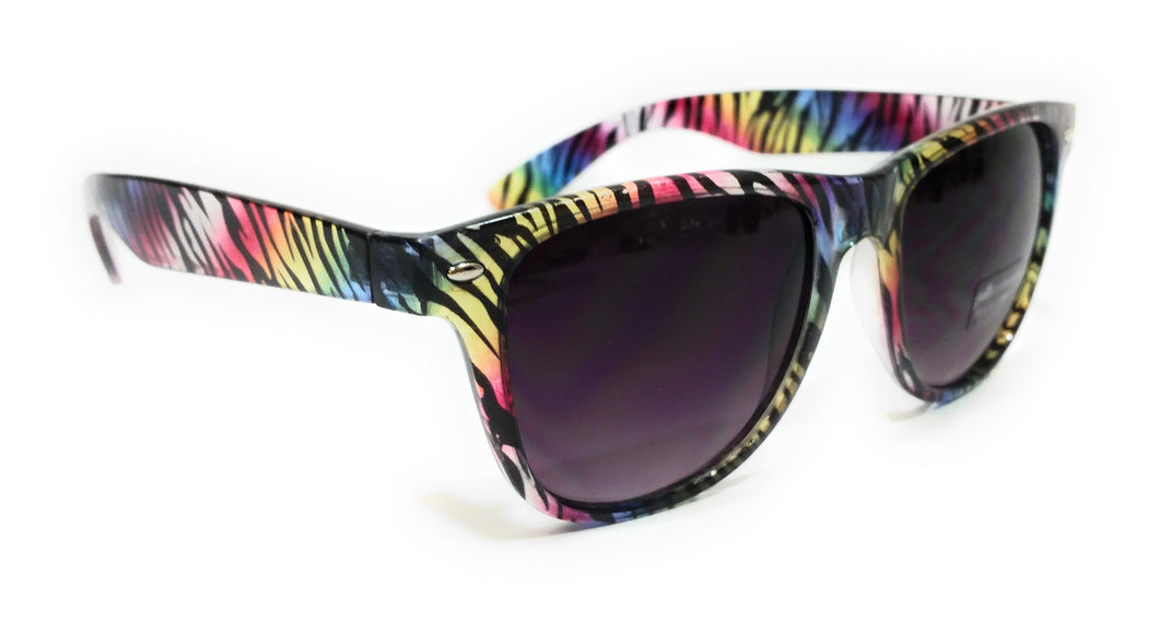 Animal Print Womens Ladies Fashion Western Cowgirl Sunglasses Multi Color