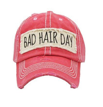 Bad Hair Day High Ponytail Bun Ponycap Hat Cap Black Pink Beige Turquoise Blue